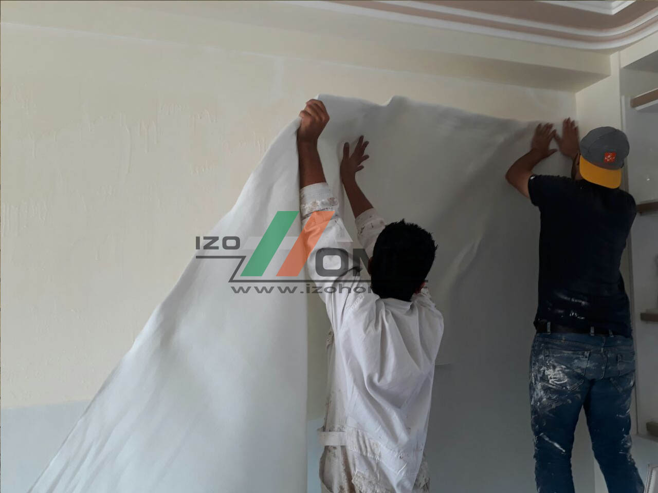 izohome22 1 - Thermal insulation for the wall