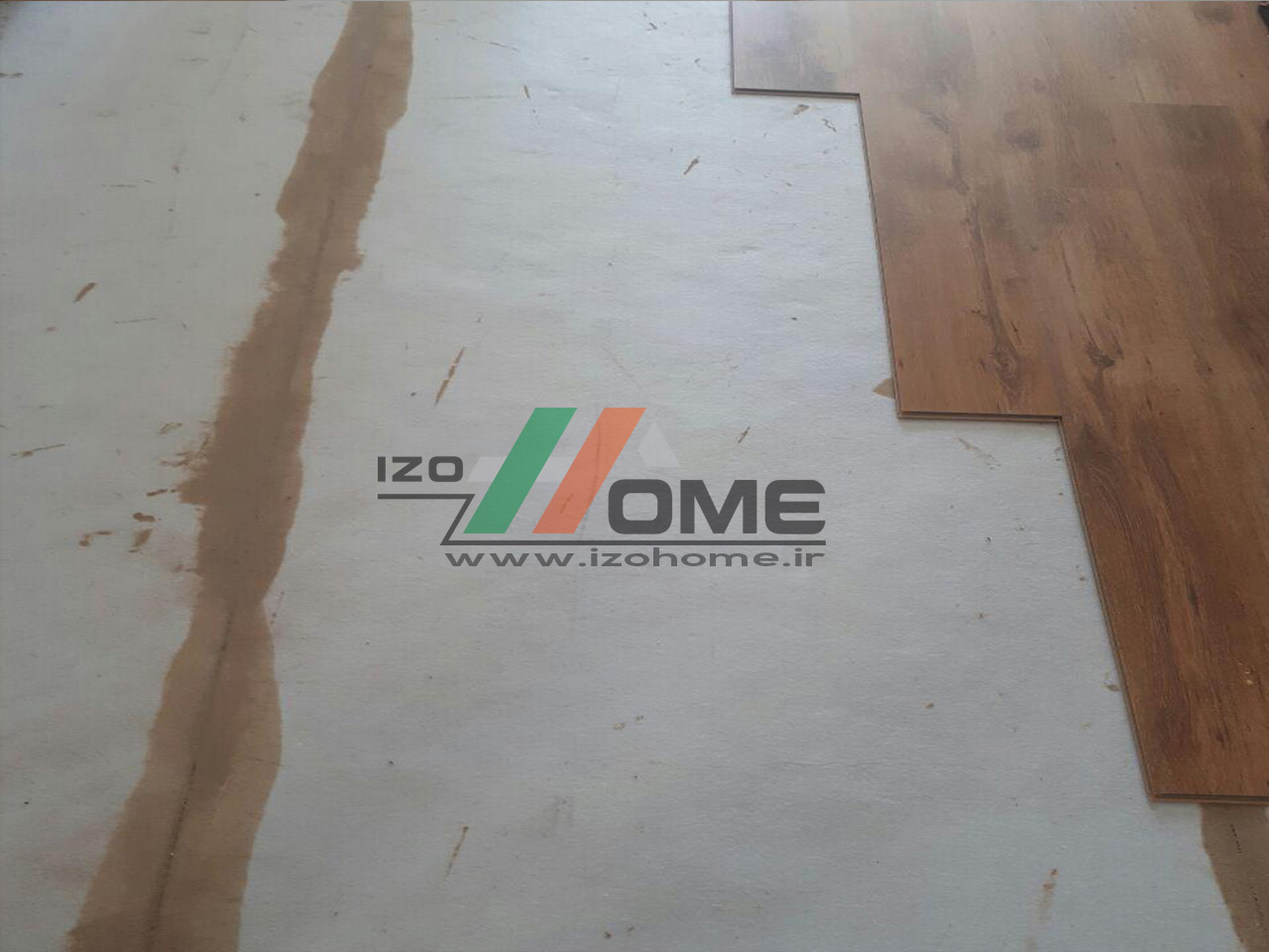 izohome37 - Sound insulation for the floor