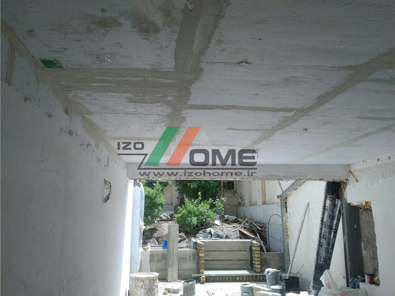 izohome45 - عایق صوتی برای سقف