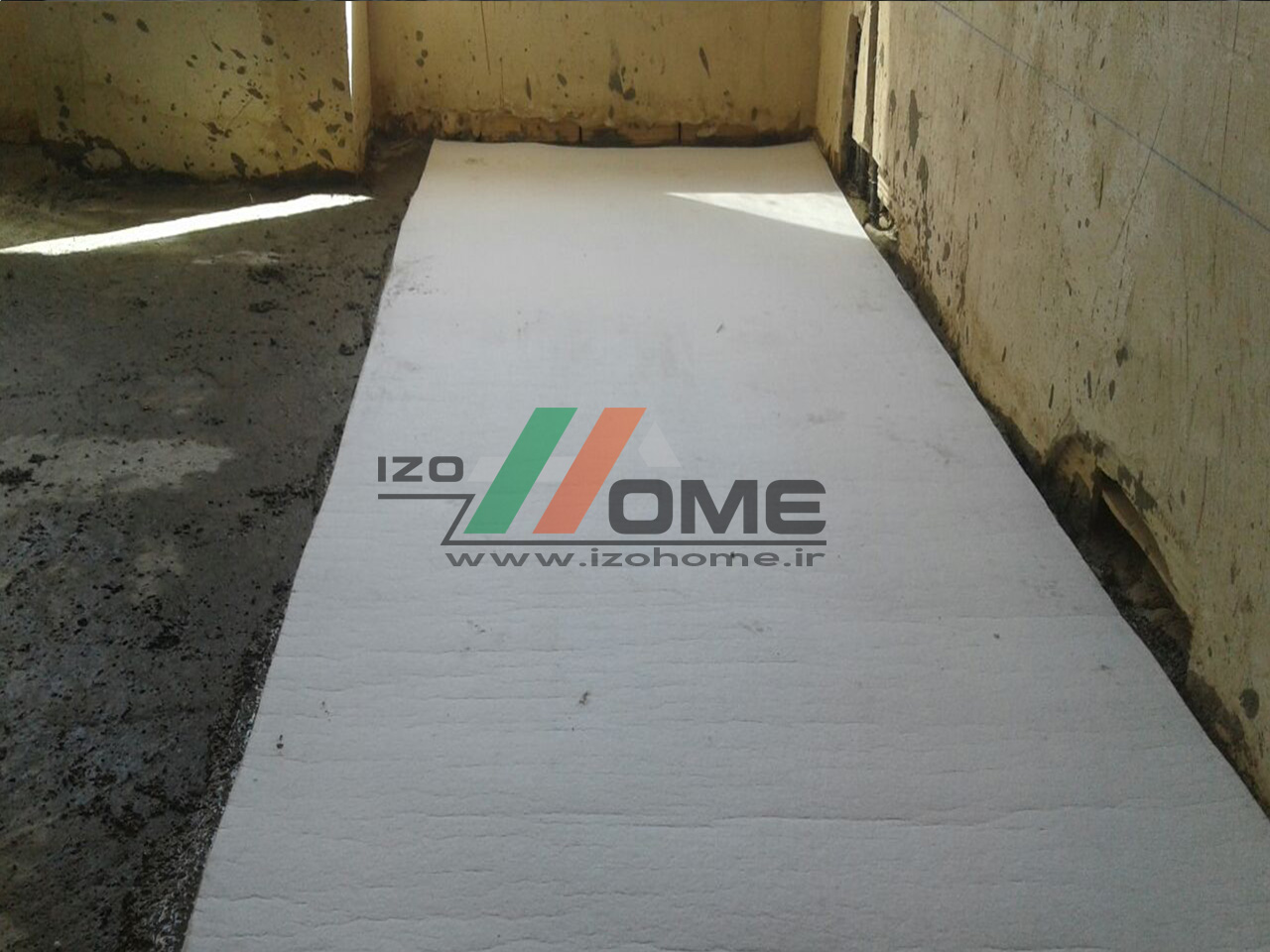 izohome48 - Sound insulation for the floor