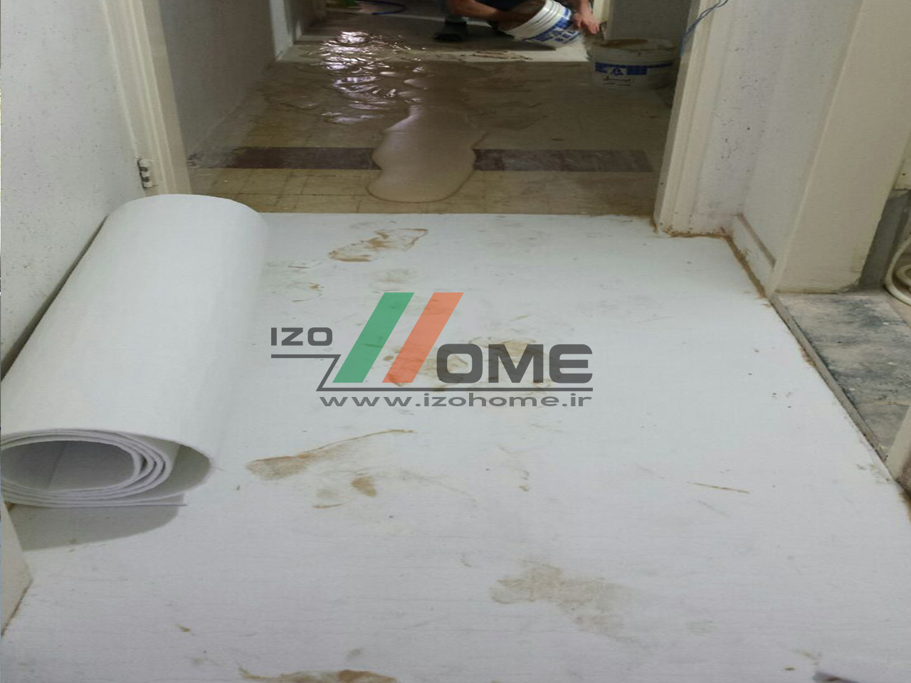 izohome51 - Sound insulation for the floor