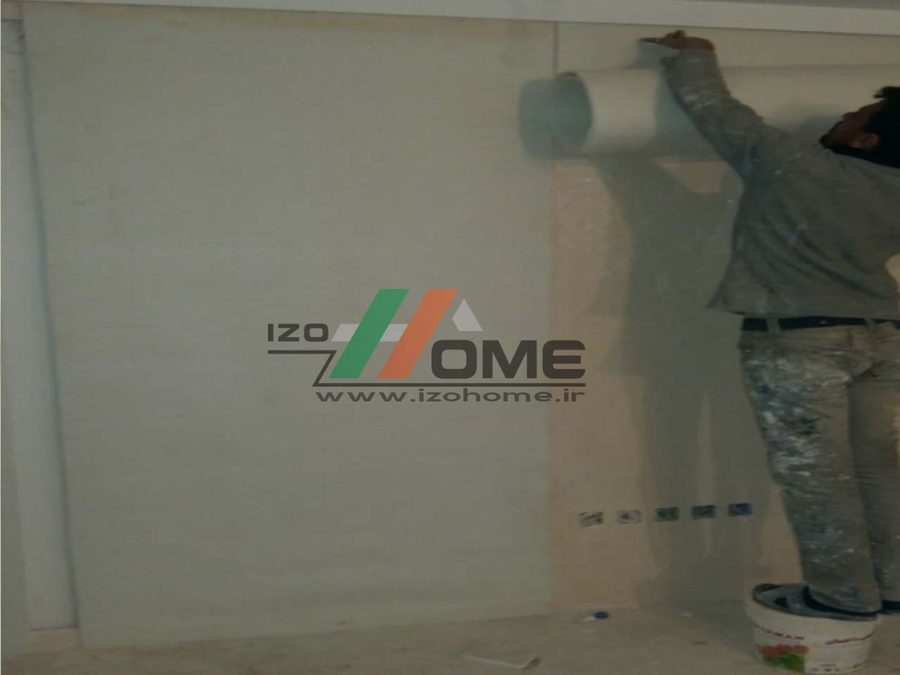 izohome60 1 - Sound insulation for the wall