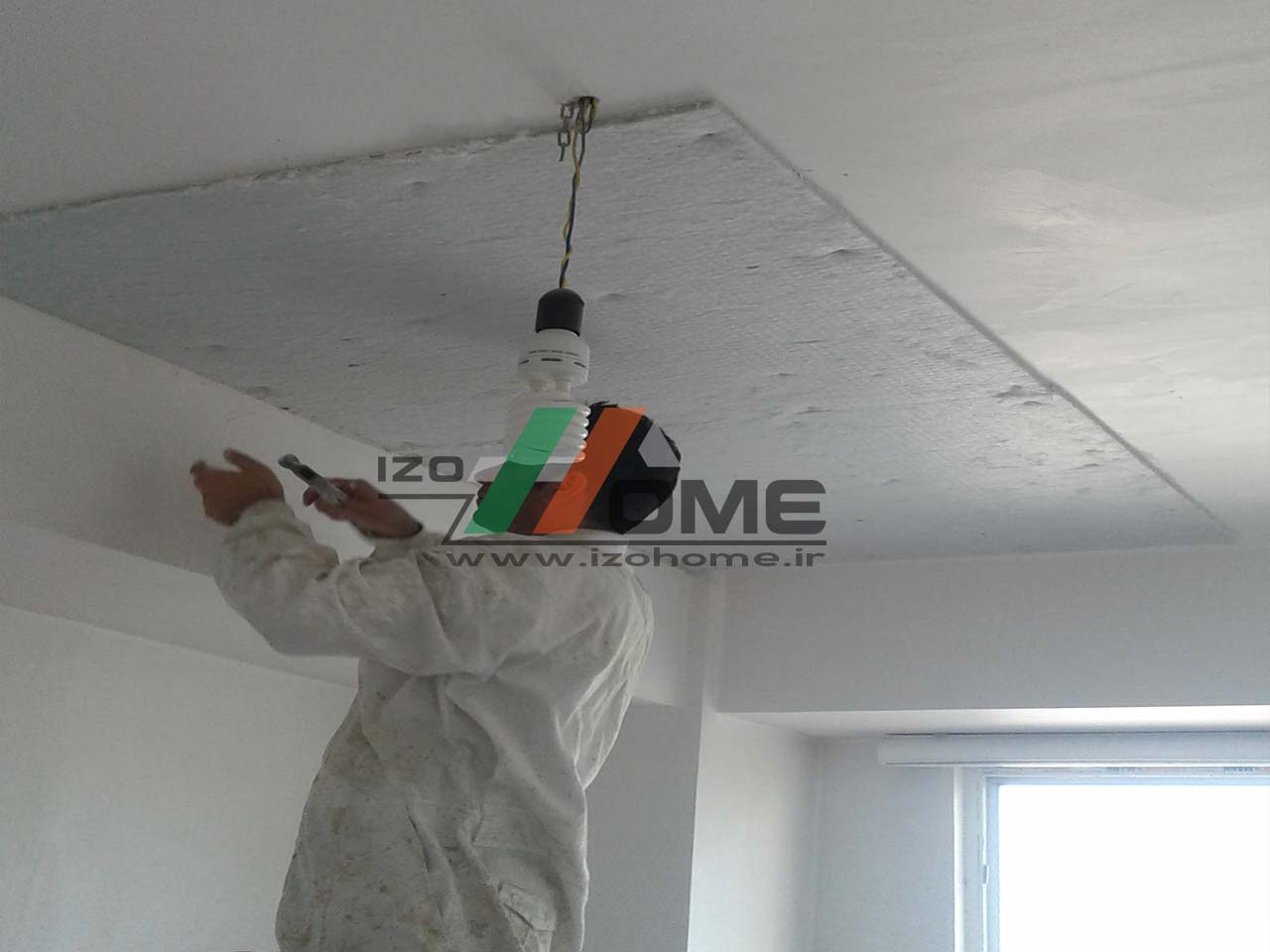 izohome64 - Sound insulation for the ceiling