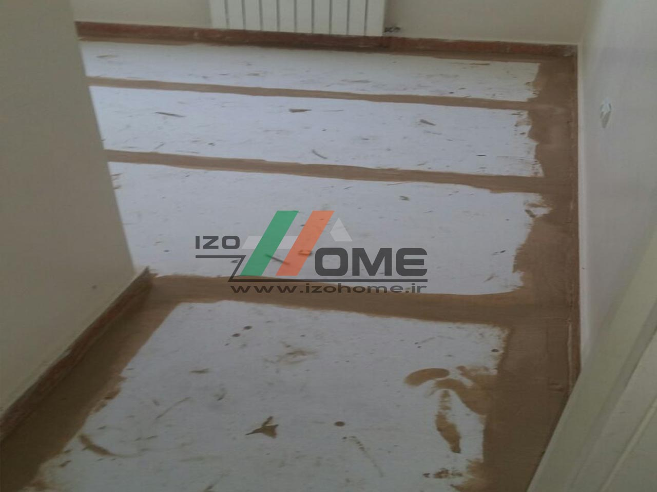 izohome100 - Sound insulation for the floor