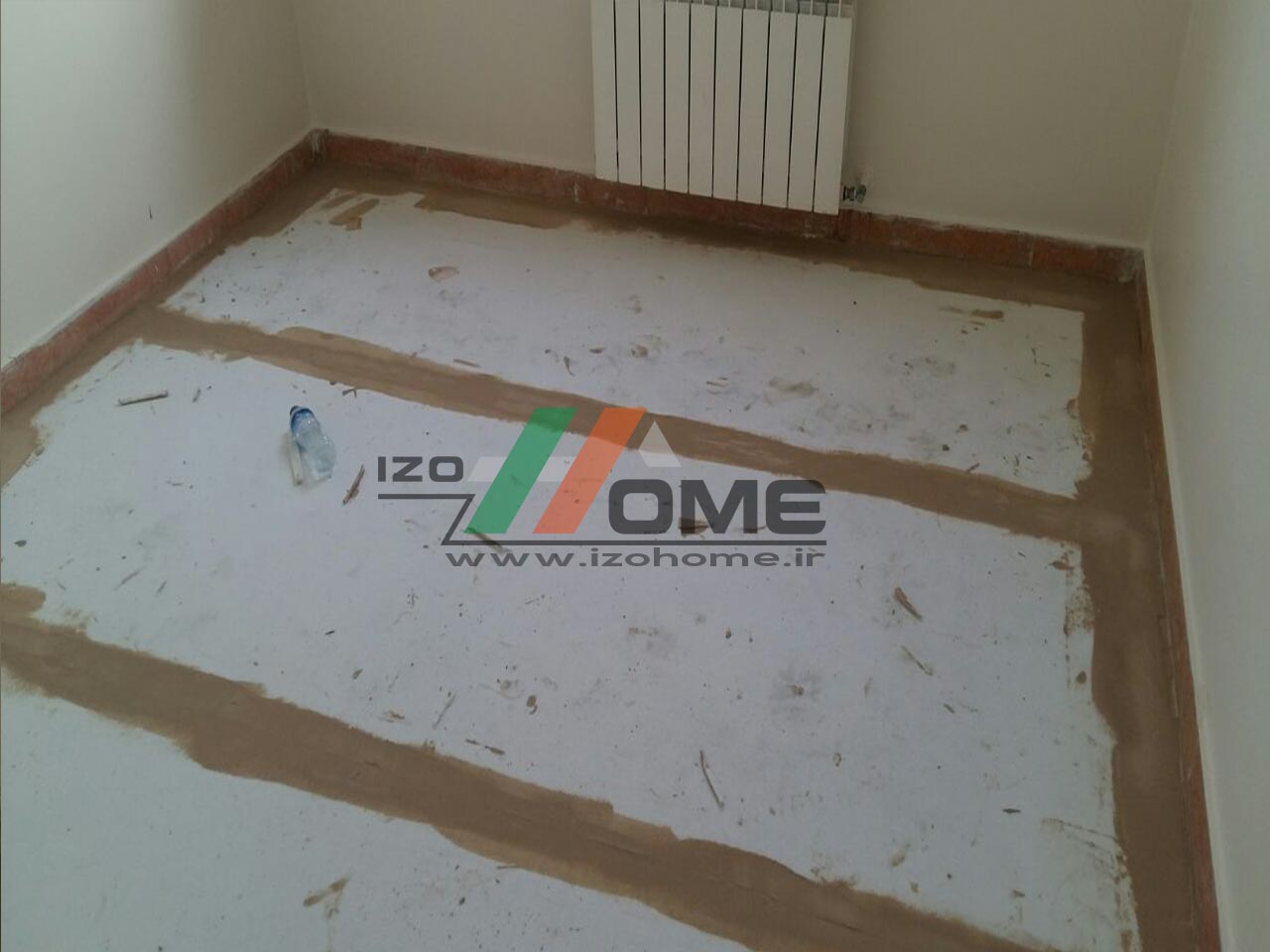 izohome101 - Sound insulation for the floor
