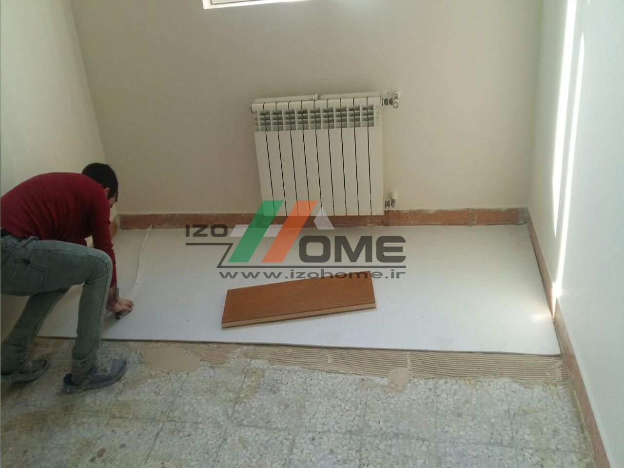 izohome99 - Sound insulation for the floor