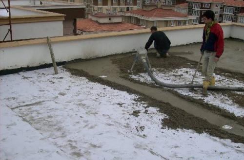 عایق حرارتی پشت بام - عایق صوتی برای کف